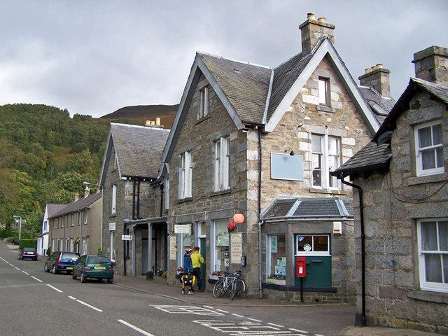 Post Office, etc, Kinloch Rannoch