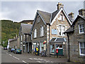 NN6658 : Post Office, etc, Kinloch Rannoch by Richard Dorrell