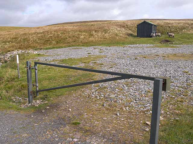 Barrier and shed