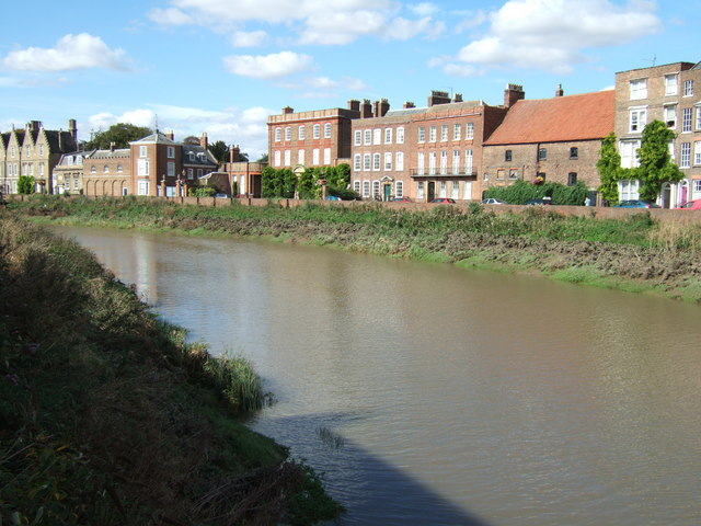 River Nene and North Brink, Wisbech