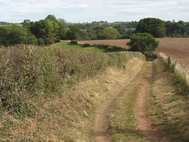 Footpath To The River Severn