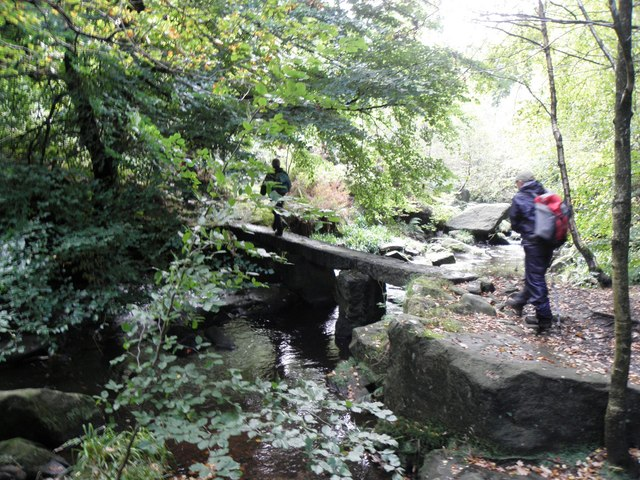 Footbridge over the Cragg Brook