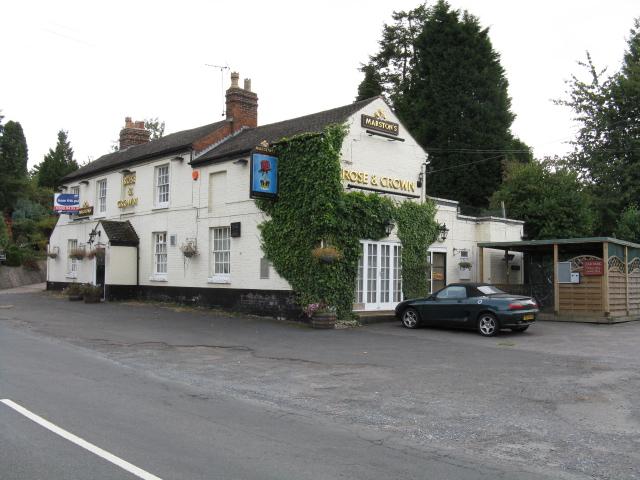 Rose & Crown Pub, Frog Pool