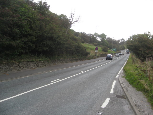 Barmoor Clough - A6 Approaching Junction