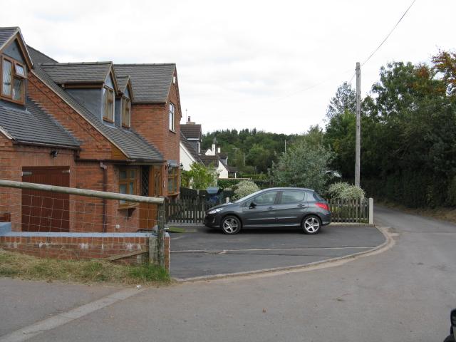 Lane At Noutard's Green