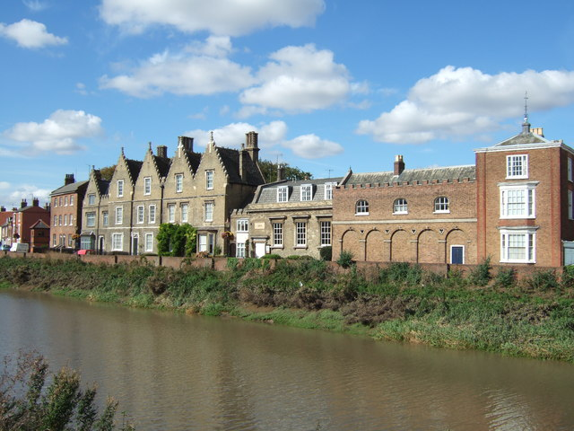 Houses on North Brink, Wisbech