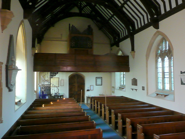 Church of St. Mary the Virgin, Childswickham - interior
