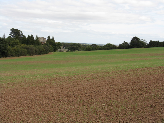Across The Fields To Witley Court