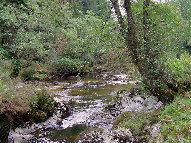 The Afon Irfon at Pwll Bo, Powys