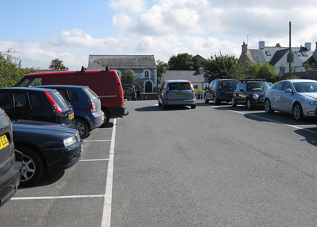 Long Street car park, Trefdraeth/Newport