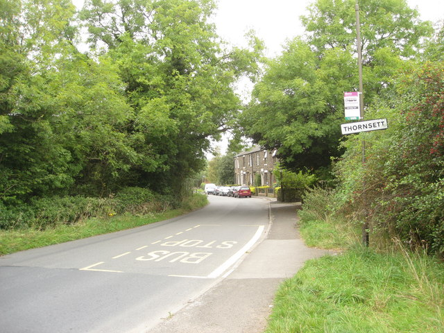 Thornsett - High Hill Road