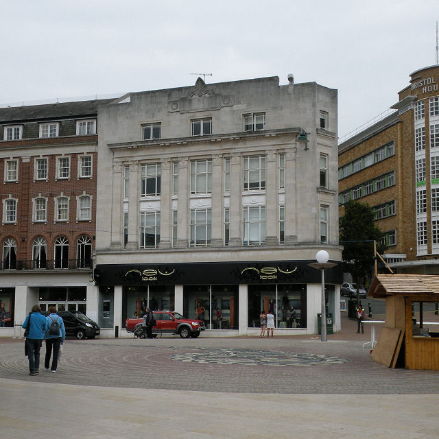 New Look, The Square