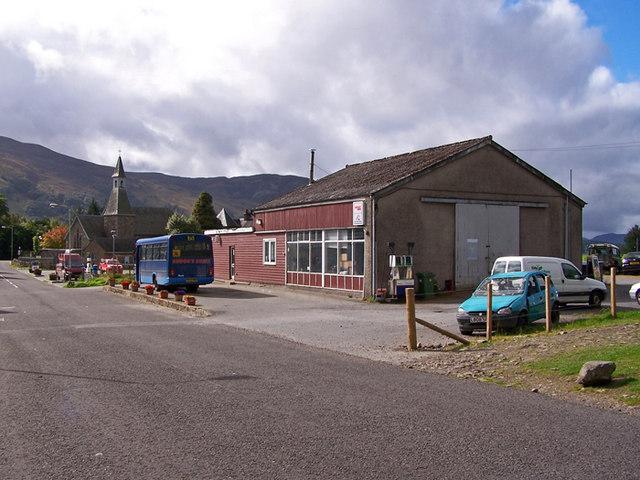 Garage workshop, Kinloch Rannoch