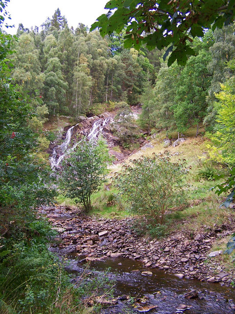 Waterfall on the Allt Mor