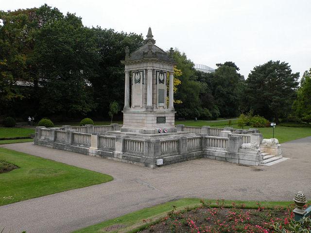 War Memorial, Central Gardens