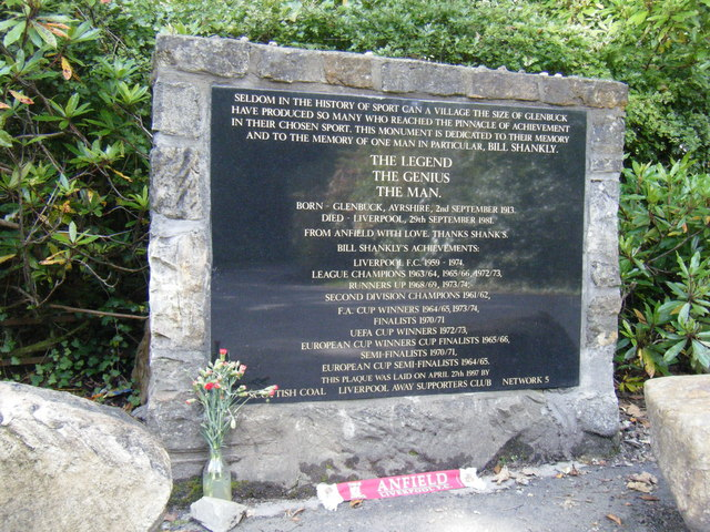 Memorial to Bill Shankly