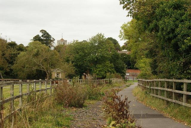Path Near Leatherhead, Surrey