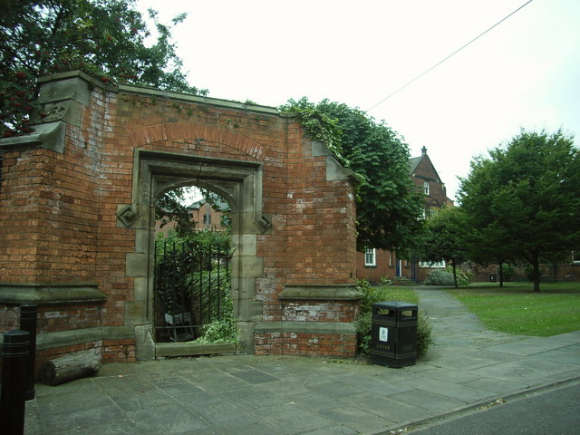 Old Entrance to St Peters Church Yard,  Leeds