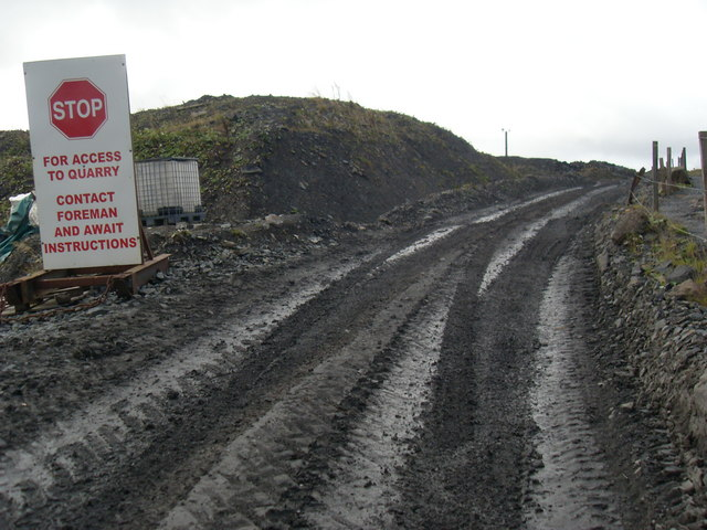 For access to quarry....