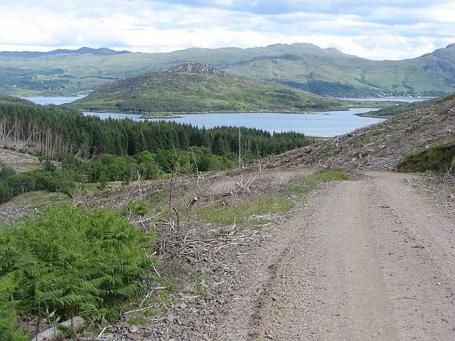 Road to Gleann Sleibhtecoire