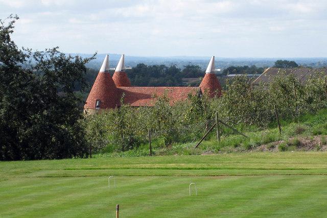 Oast House at Stallance Farm, Rectory Lane, Sutton Valence, Kent