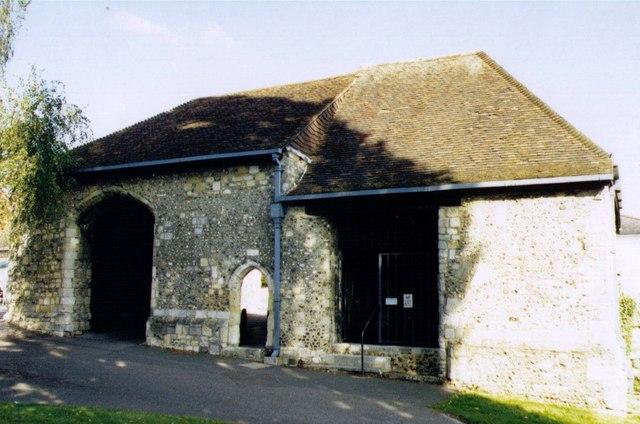 Hyde Abbey Gatehouse, Winchester