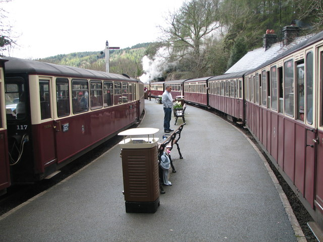Busy time at Tan-y-Bwlch