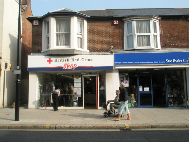 Charity shops in West Street (3 & 4)