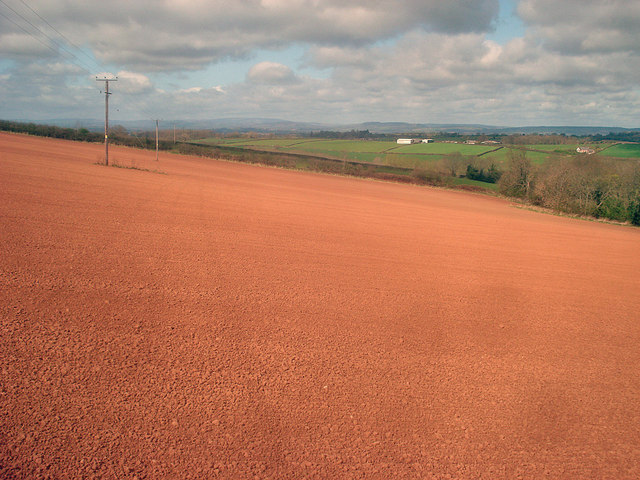 Arable field north of Docklow
