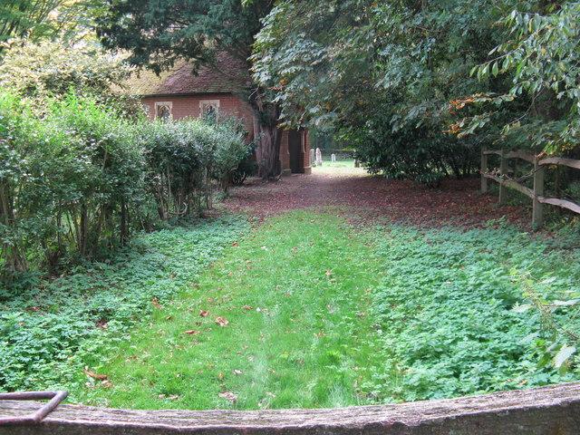 Entrance to Shermanbury Chapel