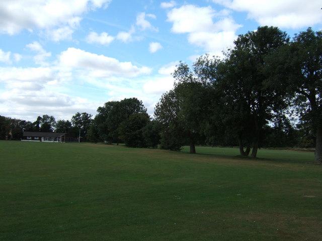 Sports fields on Harecroft Road, Wisbech