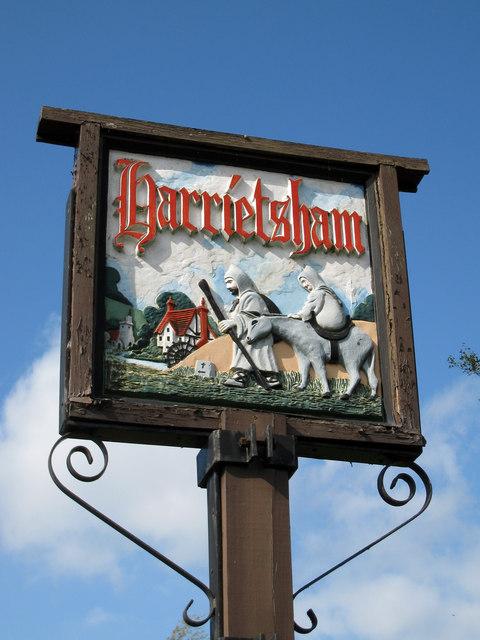 Harrietsham Village Sign