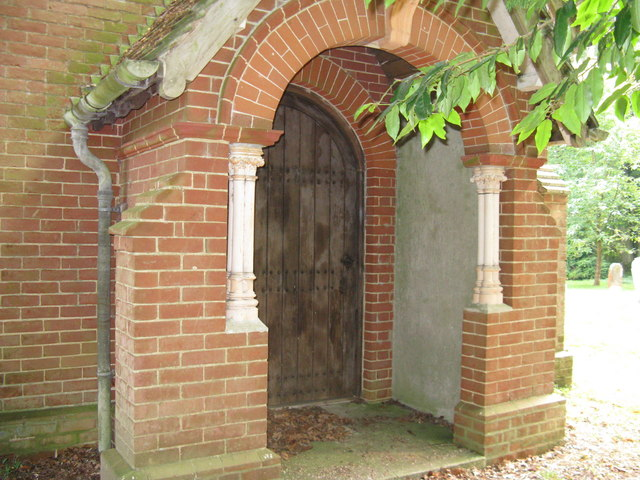 Porch at Shermanbury Chapel