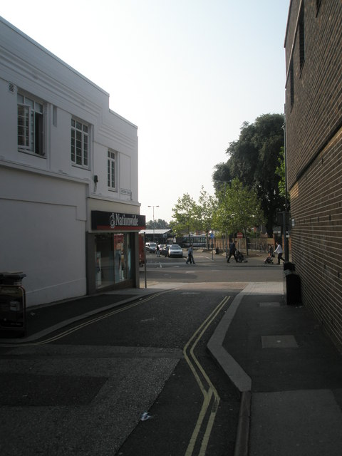 Looking from Westbury Road into West Street