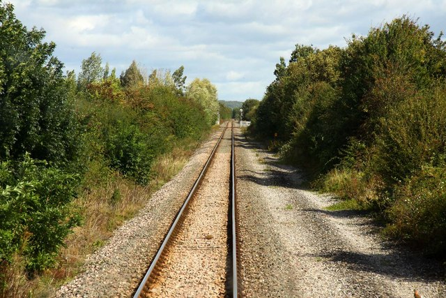 Approaching Oddington Crossing