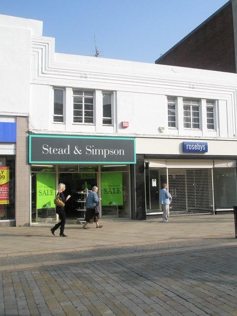 Stead & Simpson in West Street