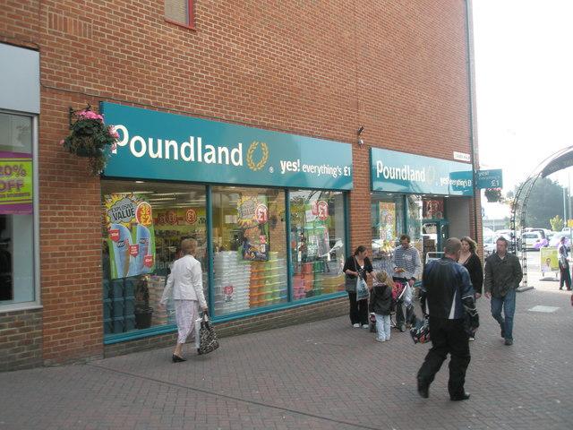 Poundland in Cremer Mall