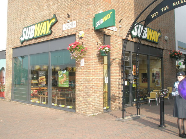 Subway in Cremer Mall