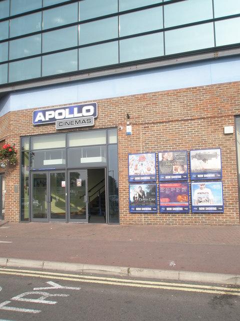 Entrance to Apollo Cinema behind West Street