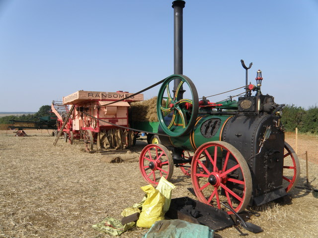 Threshing tackle, Little Casterton