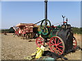 TF0109 : Threshing tackle, Little Casterton by Michael Trolove