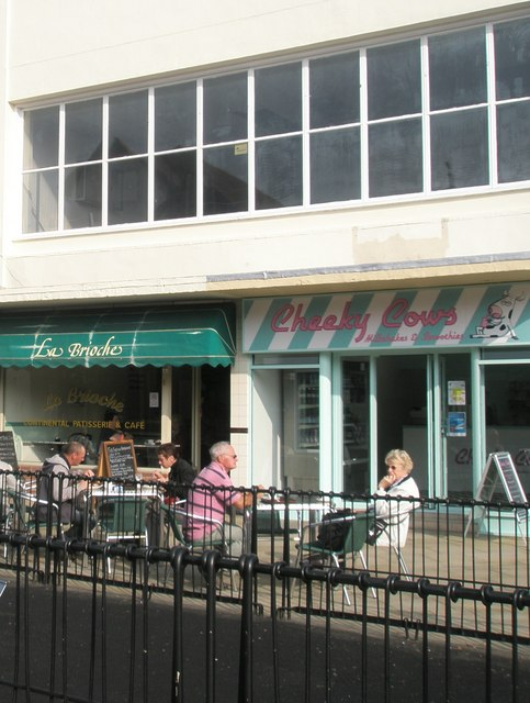 Places to eat in Fareham town centre