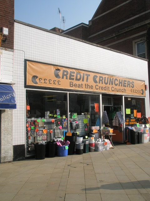 Credit Crunchers in Fareham town centre
