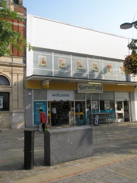 Somerfield in Fareham town centre
