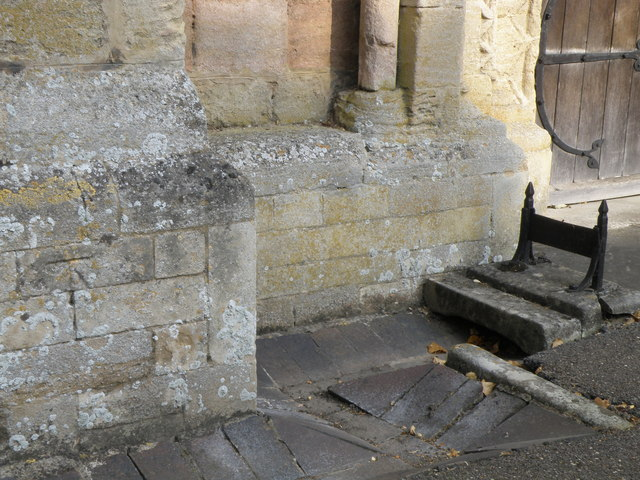 Bench Mark, Ketton church