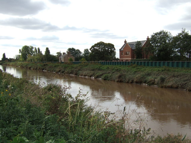 New house on The North Brink near Wisbech