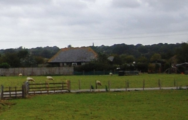 Building near Salts Farm