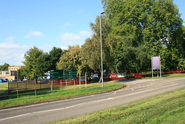 Blandford school entrance