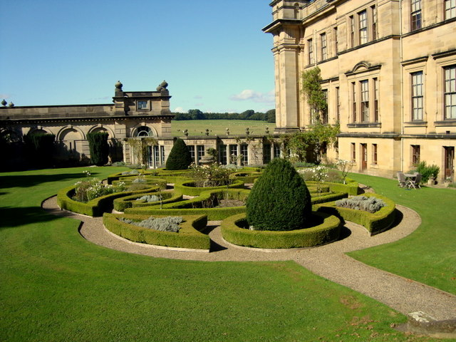 Parterre at Duncombe Hall