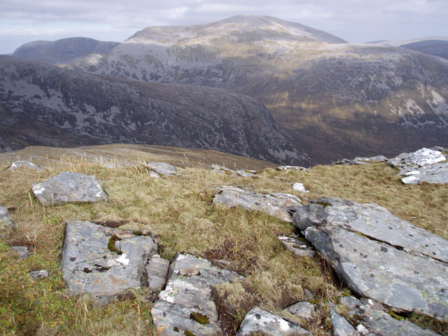 View east from Beinn Eanaiglair